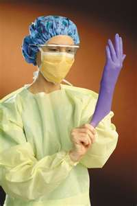 medical exam gloves