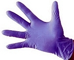 Nitrile gloves, 4 mil